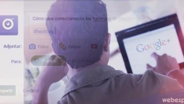 guia uso hashtag google plus