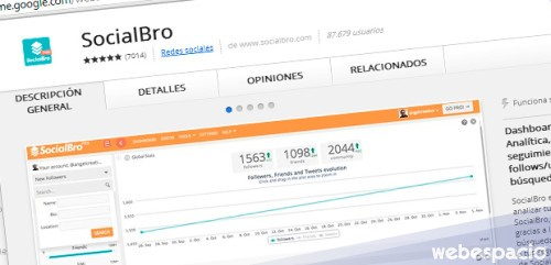 extension chrome socialbro