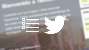 consejos utilizar listas twitter