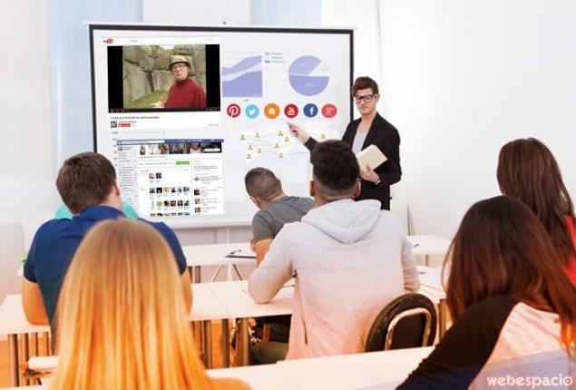 redes sociales en el aula