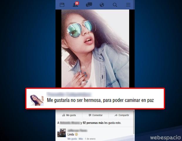modestia falsa facebook