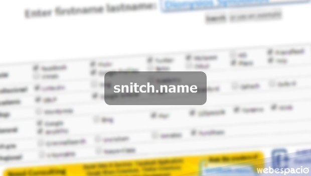 Snitch-name