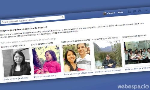 desctivar facebook