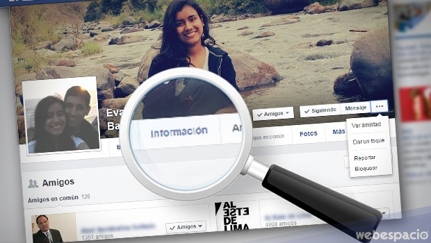 buscar informacion facebook
