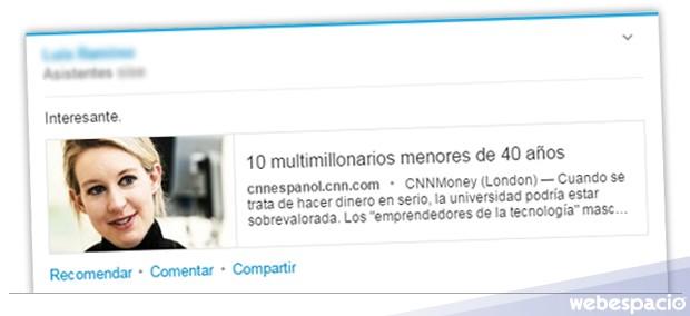 compartir link linkedin