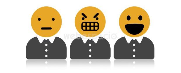 emoticones hacen sonreir