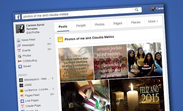 fotos entre amigos facebook