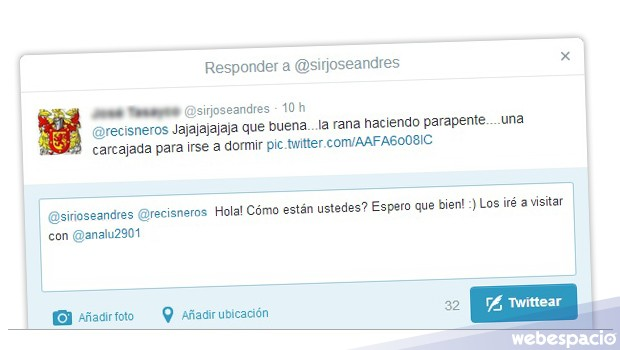 interaccion twitter