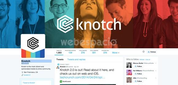 knotch portada twitter