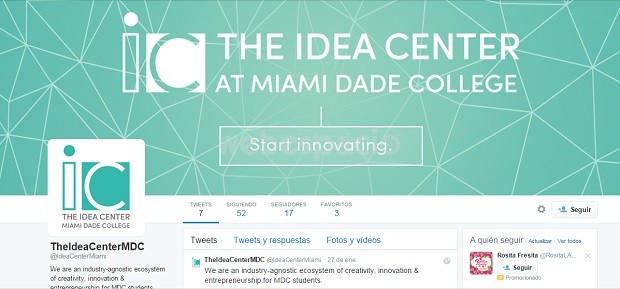 the idea center twitter