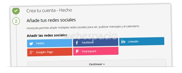 tipos redes hootsuite