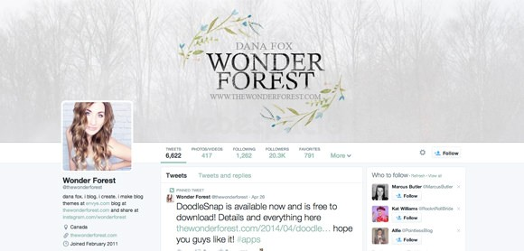 wonderforest portada twitter