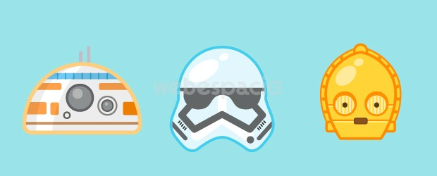 emoticones star wars