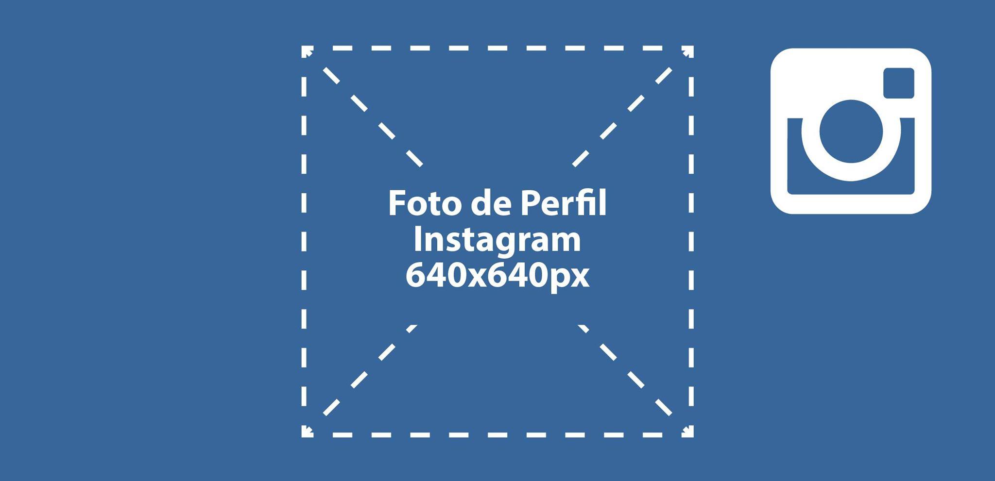 instagram medidas