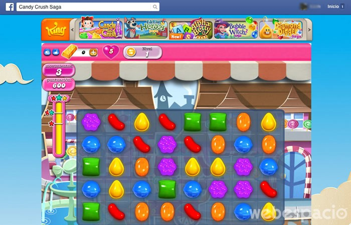 jugar candy crush facebook