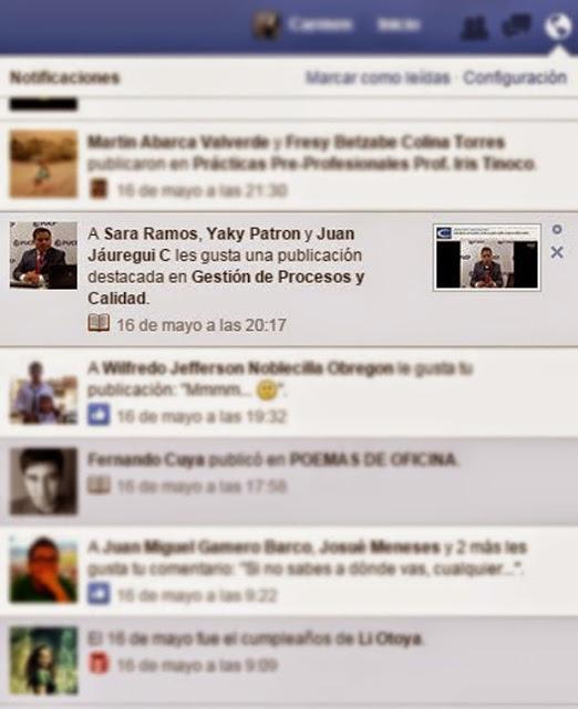 notificaciones-publicacion marcada facebook