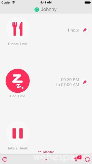 dinnertime-aplicacion-para-controlar tiempo de los hijos