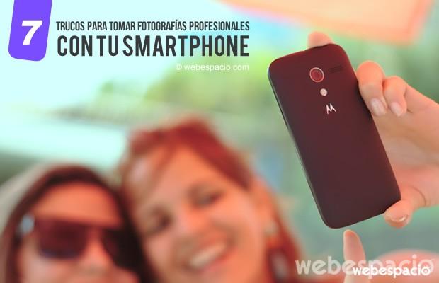 trucos tomar fotos smartphone