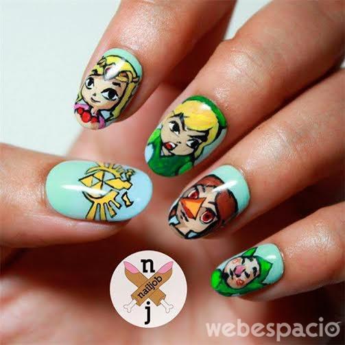 manicure-leyenda-de-zelda