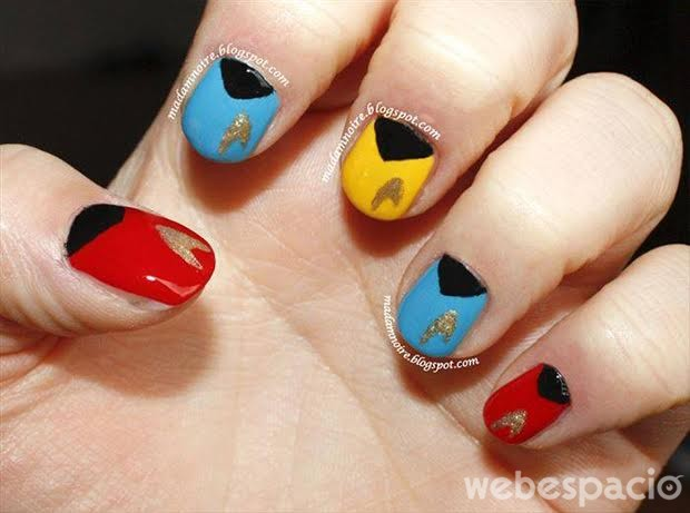 manicure-star-trek