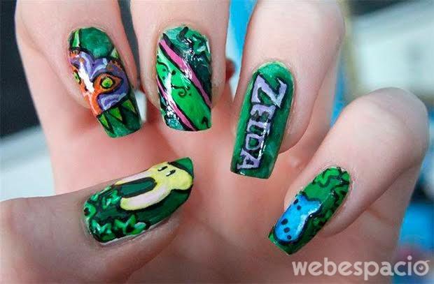 manicure-zelda