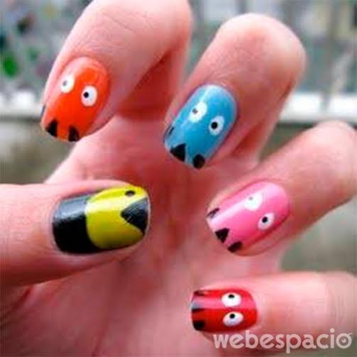 pacman-manicure