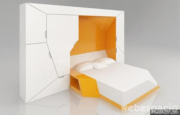 dormitorio plegable