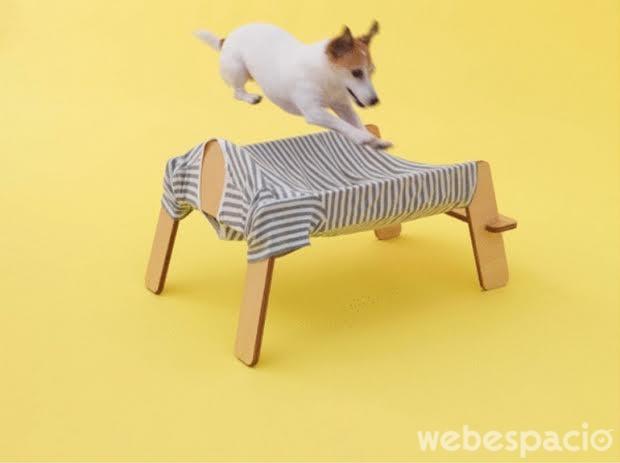 una mascota mueble