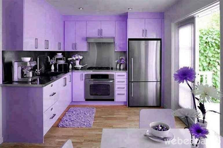 18 cocinas de diferentes colores que desear s tener en tu - Cocinas pintadas fotos ...