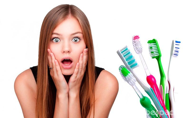 trucos de belleza con un cepillo de dientes