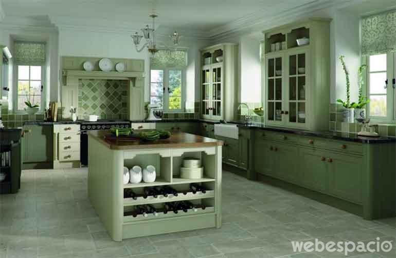 18 Cocinas de diferentes colores que desearás tener en tu casa ahora ...