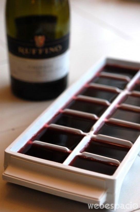 vino-cubitos-de-hielo