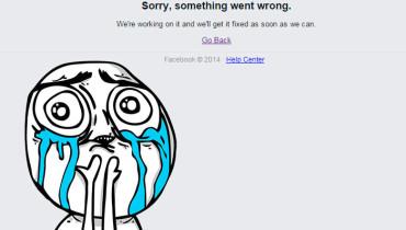 facebook se cayo