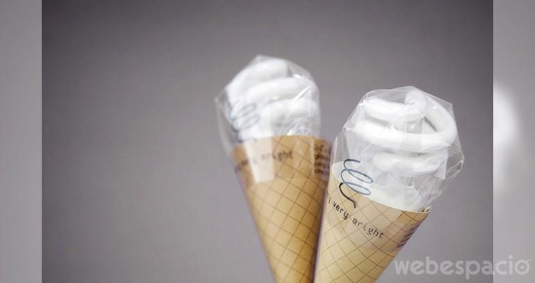 helados de bombillas de luz-empaque