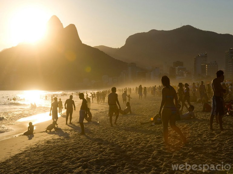ipanema beach brasil