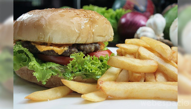 hamburguesa alimento adictivo