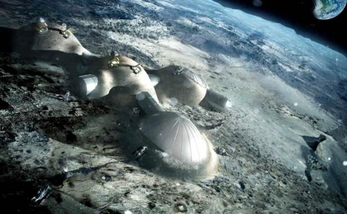 construir pueblo luna