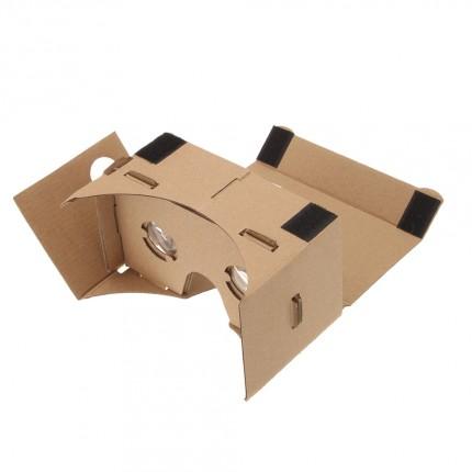 lentes de realidad virtual de cartón