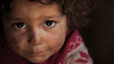 niños en siria