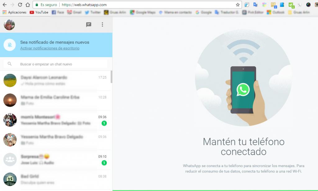 whatsapp desde tu computadora