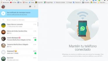 Cómo usar WhatsApp desde tu computadora