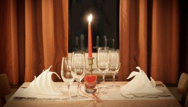 cena romántica