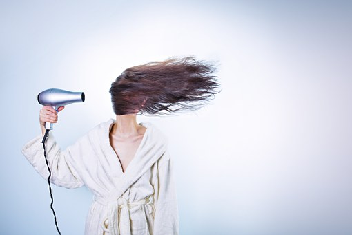 secado de cabello
