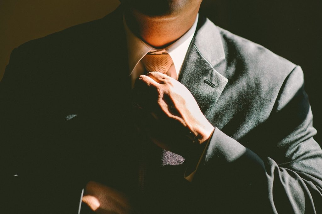 nudo de corbata