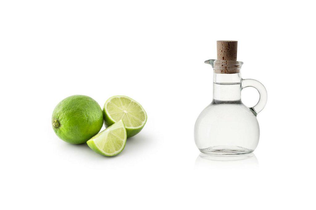 limon con vinagre blanco para quitar esmalte de uñas de la ropa